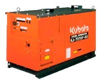 дизельная электростанция kubota kj-s130vx