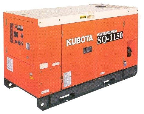 дизельная электростанция kubota sq-1120