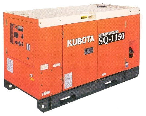 дизельная электростанция kubota sq-1150