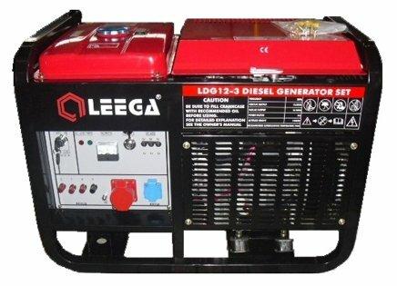 дизельная электростанция lega power ldg12-3 ea