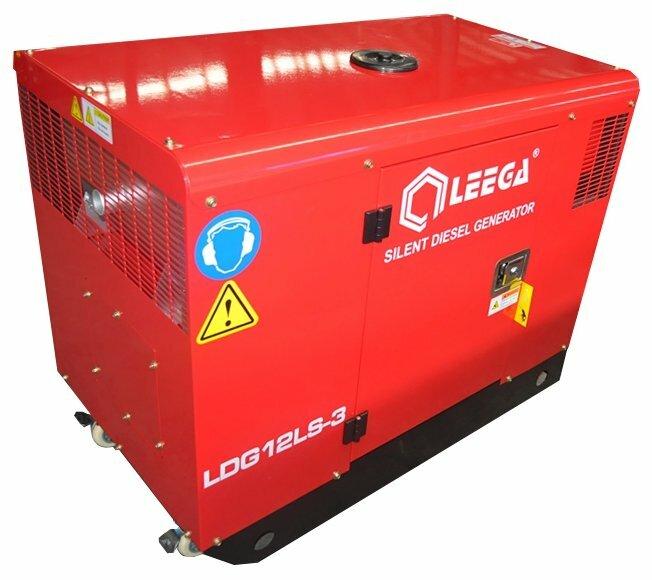 дизельная электростанция lega power ldg12-3 lsa