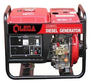 дизельная электростанция lega power ldg 3600cl