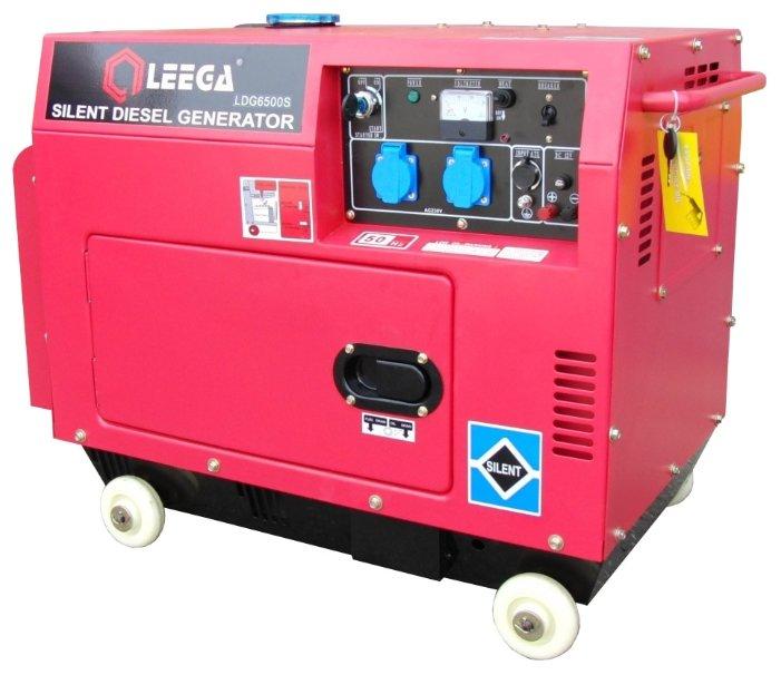 дизельная электростанция lega power ldg 6500s