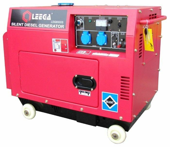 дизельная электростанция lega power ldg 6500sa