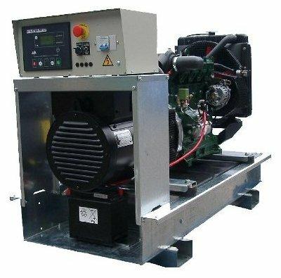 дизельная электростанция lister petter lld200-wme350