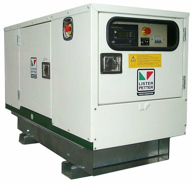 дизельная электростанция lister petter lld250a-wle150