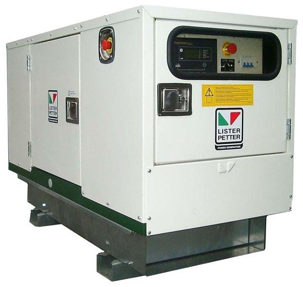 дизельная электростанция lister petter lld95а-wle150
