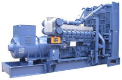 дизельная электростанция mitsubishi mgs1500b (2000 ква)