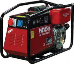 дизельная электростанция mosa ge 6500 ds/gs