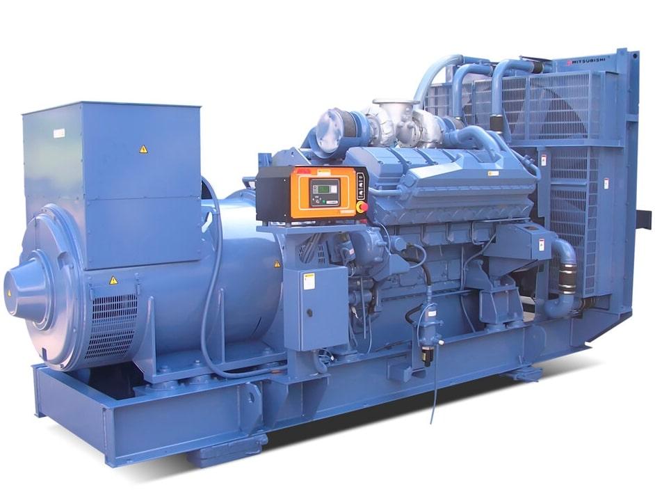 дизельная электростанция motor mge1000-t400-mi