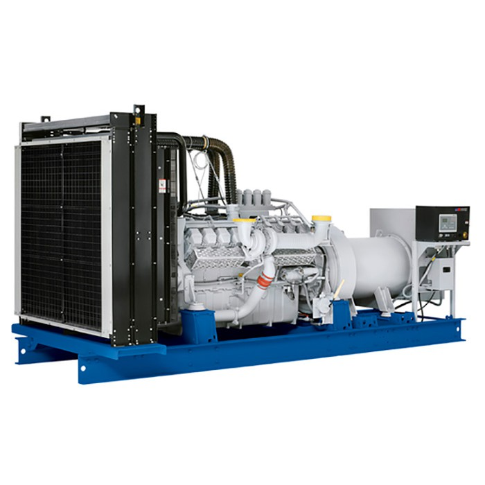 дизельная электростанция motor mge1300-t400-mt