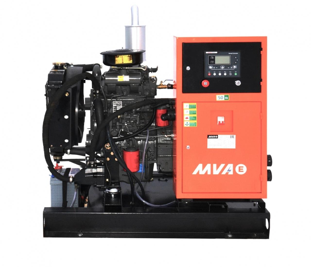 дизельная электростанция mvae ад-10-400-ар