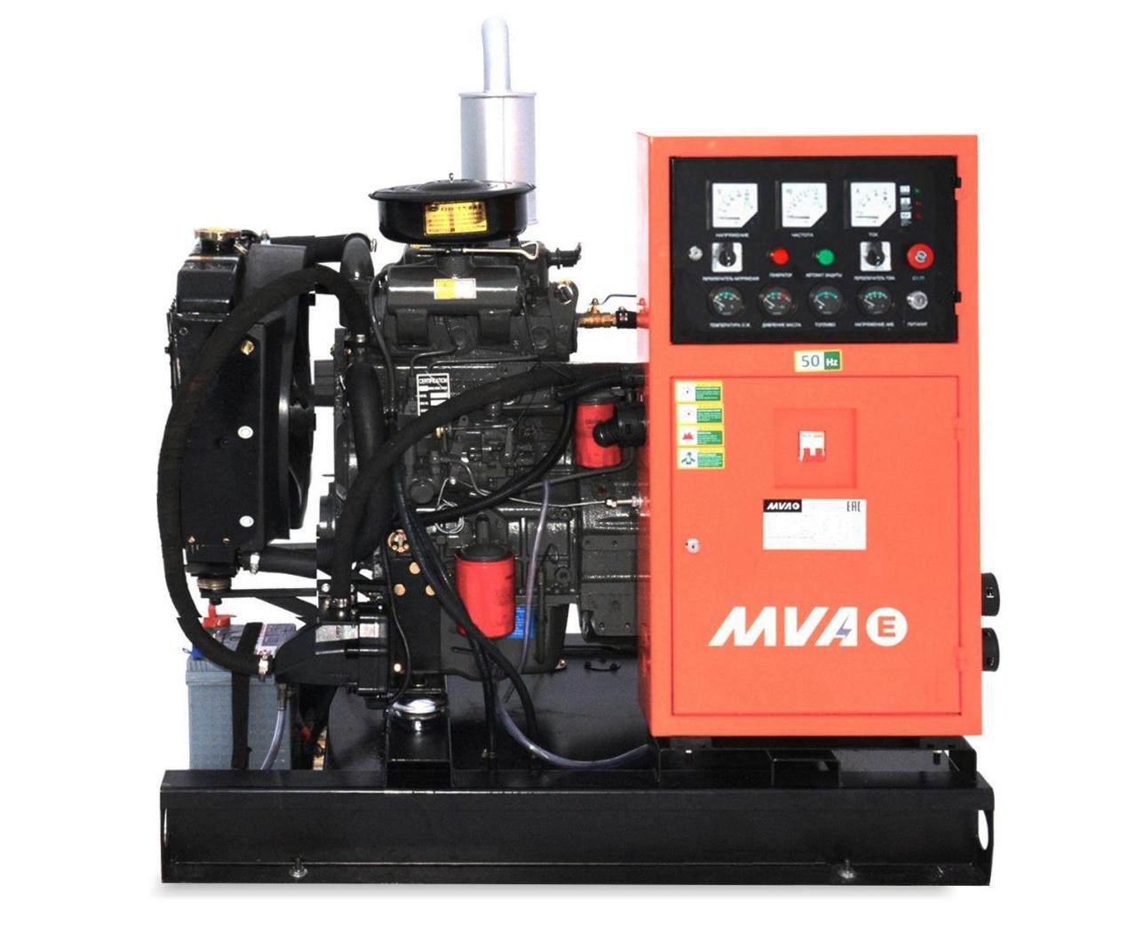 дизельная электростанция mvae ад-10-400-р