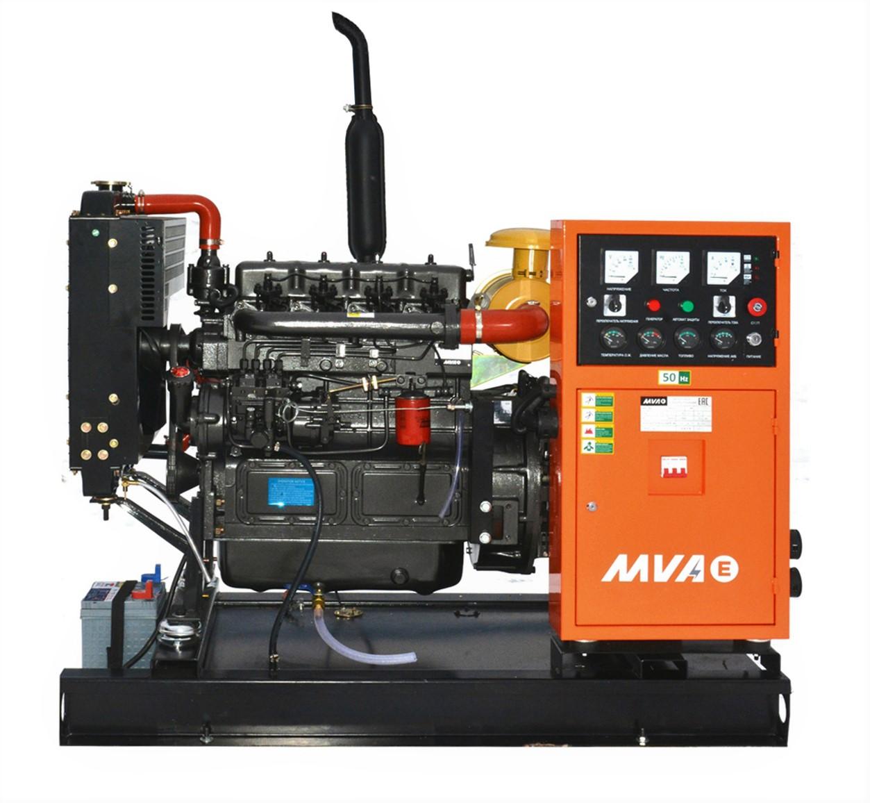 дизельная электростанция mvae ад-18-400-р