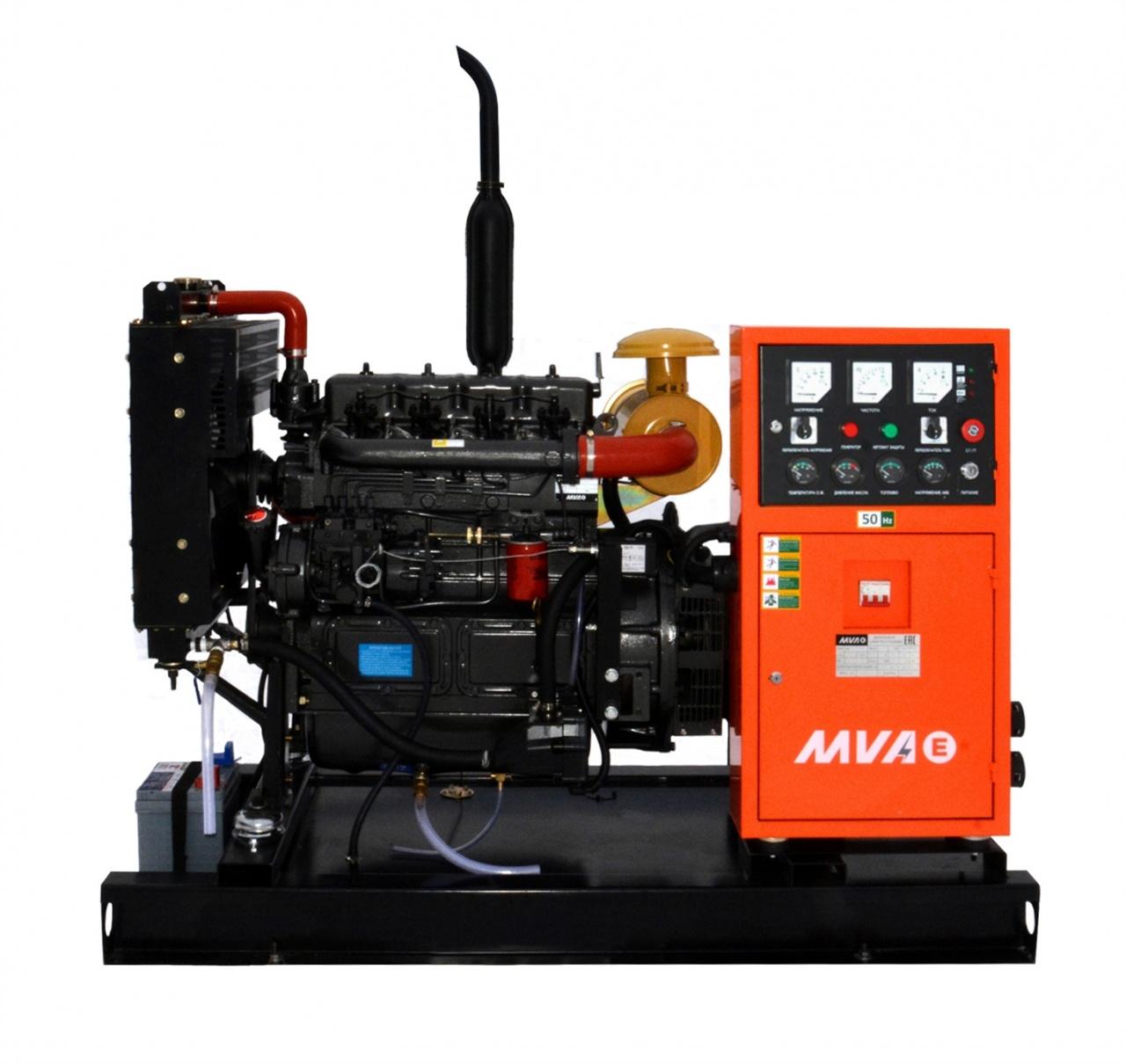 дизельная электростанция mvae ад-25-400-р