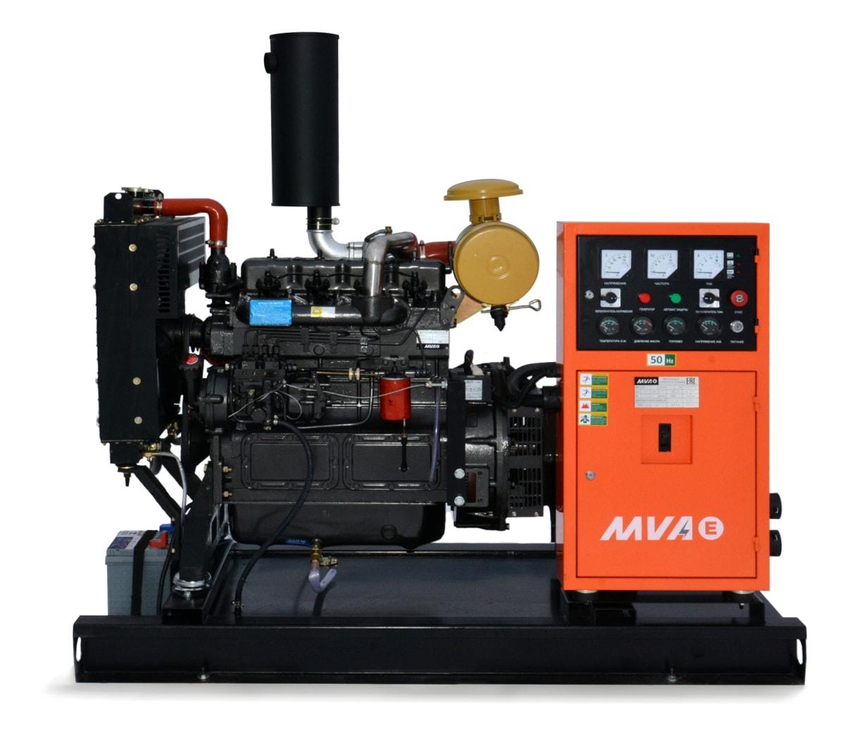 дизельная электростанция mvae ад-30-230-р