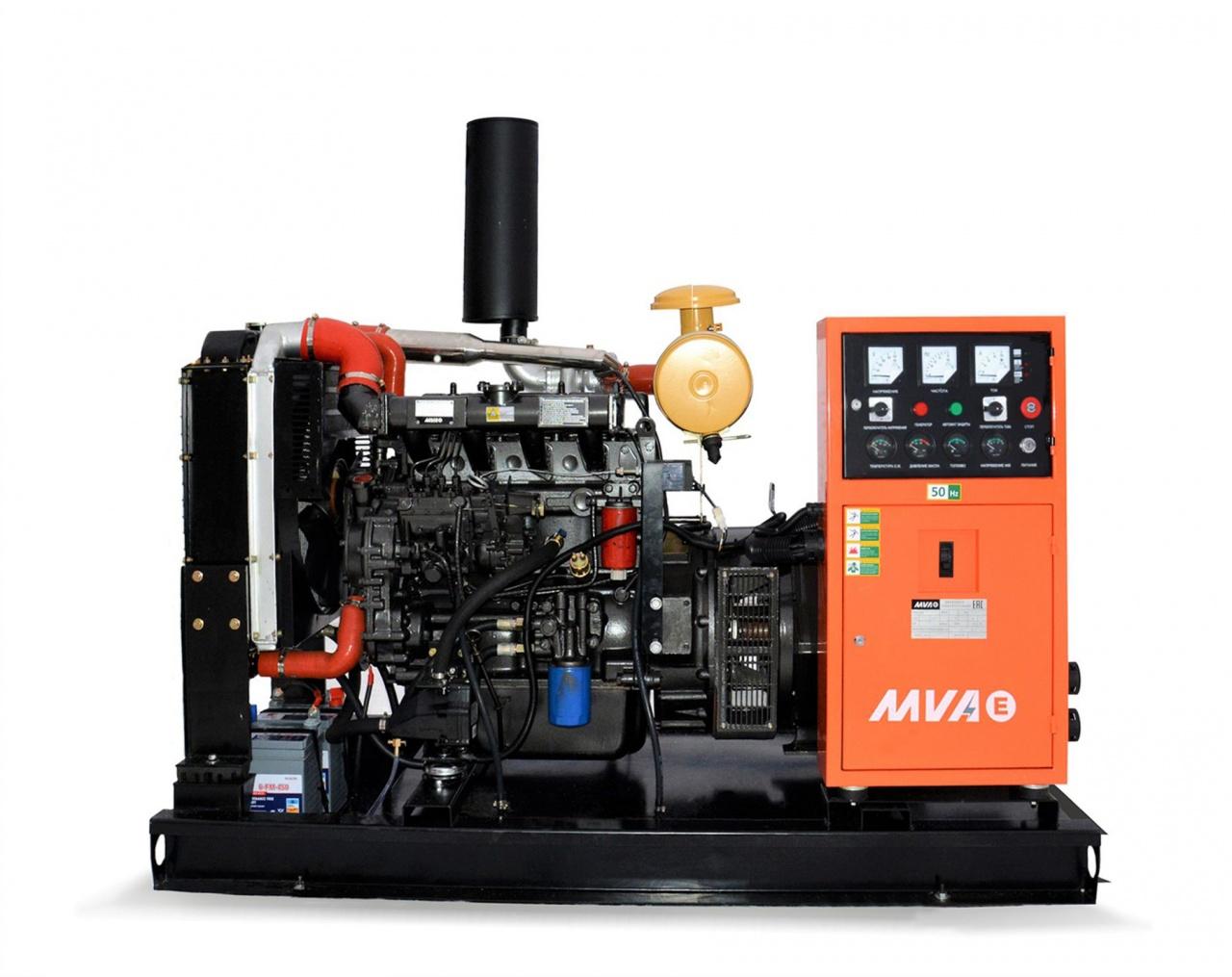 дизельная электростанция mvae ад-50-400-р