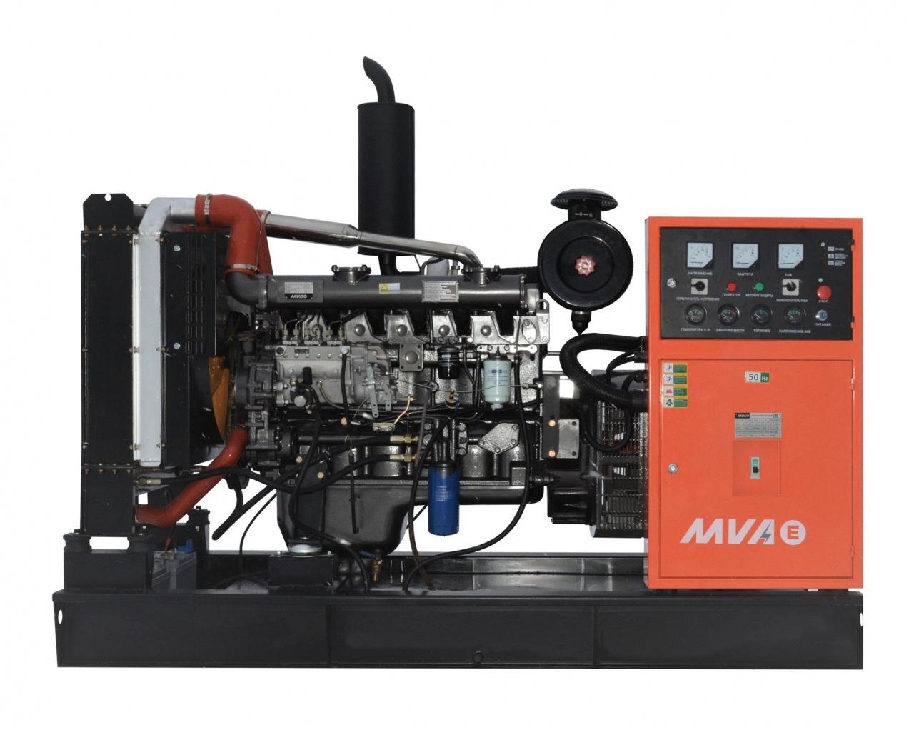 дизельная электростанция mvae ад-80-400-р