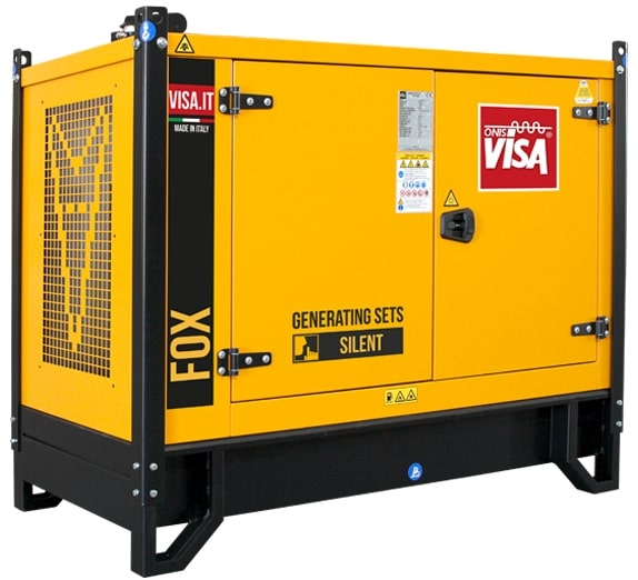 дизельная электростанция onis visa p 15 fox s
