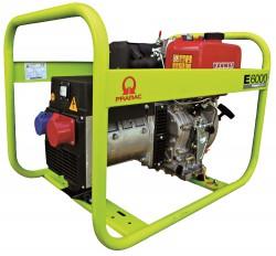 дизельная электростанция pramac e6000 3 фазы