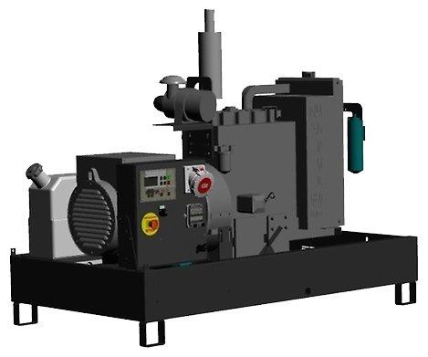 дизельная электростанция pramac gbw 10 y 400v