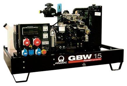 дизельная электростанция pramac gbw 15
