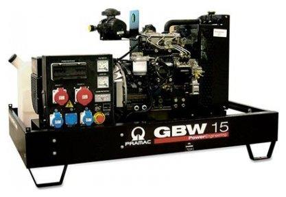 дизельная электростанция pramac gbw 15 d