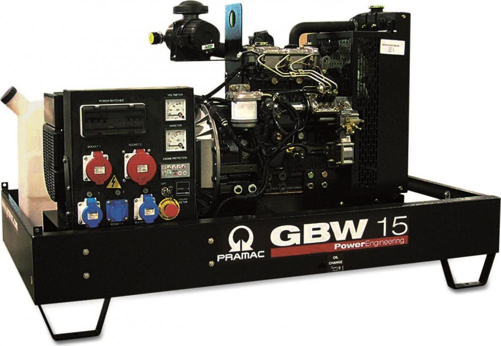 дизельная электростанция pramac gbw 15 y