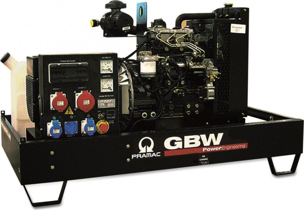 дизельная электростанция pramac gbw35y