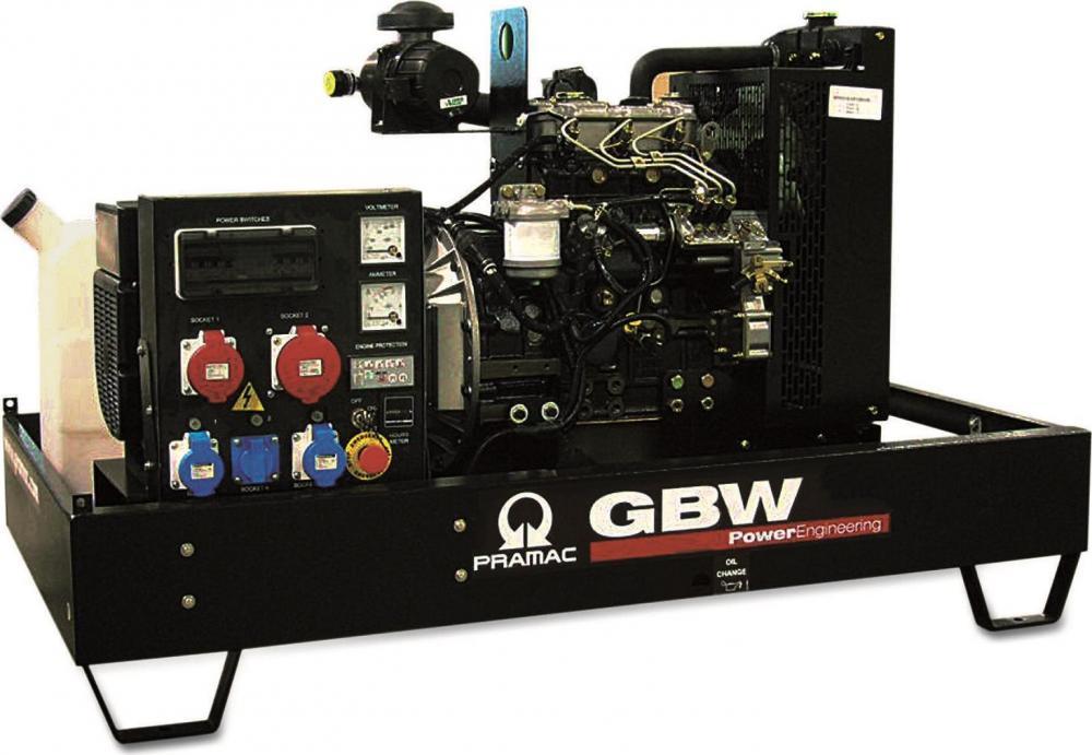 дизельная электростанция pramac gbw 45 y