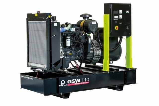 дизельная электростанция pramac gsw110d