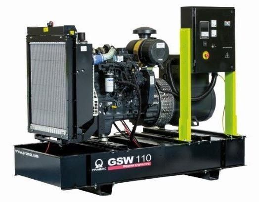 дизельная электростанция pramac gsw 110 v