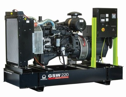 дизельная электростанция pramac gsw220 v