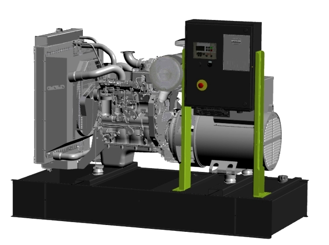 дизельная электростанция pramac gsw405m