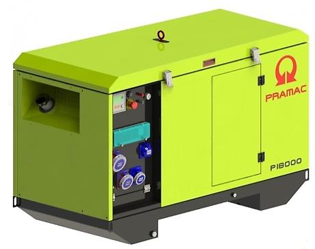 дизельная электростанция pramac p18000