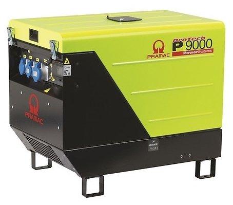 дизельная электростанция pramac p9000 3 фазы auto