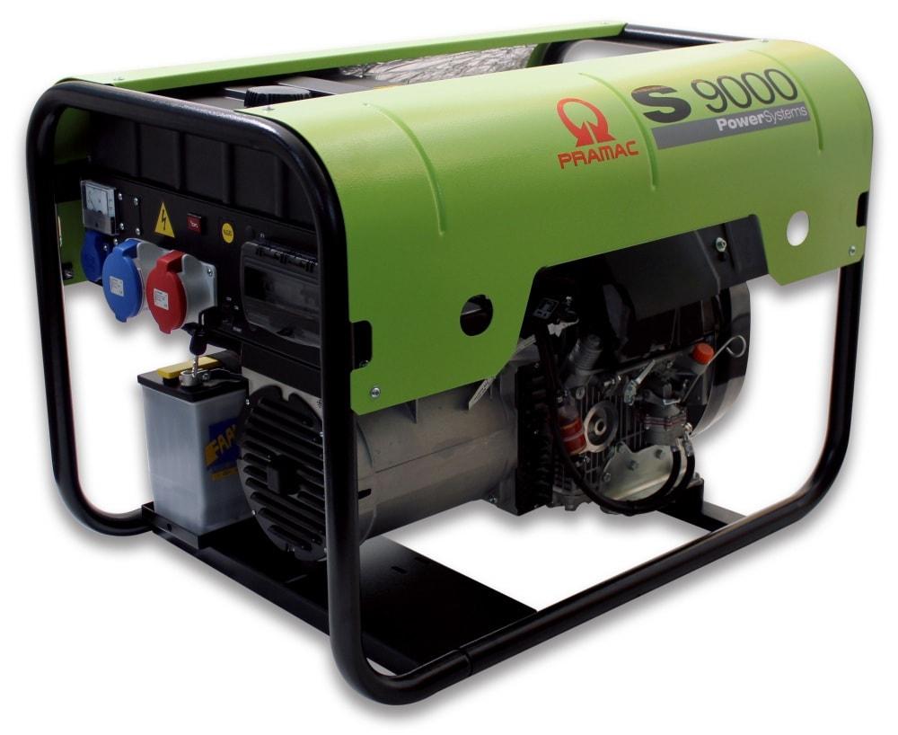 дизельная электростанция pramac s9000 3 фазы