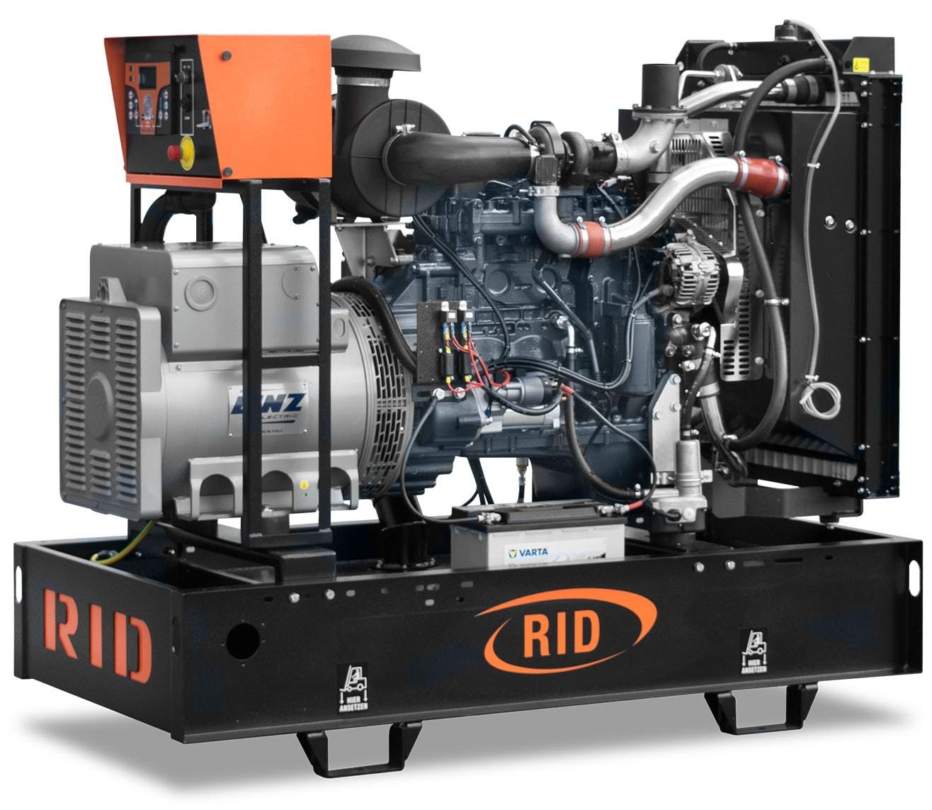 дизельная электростанция rid 100 c-series