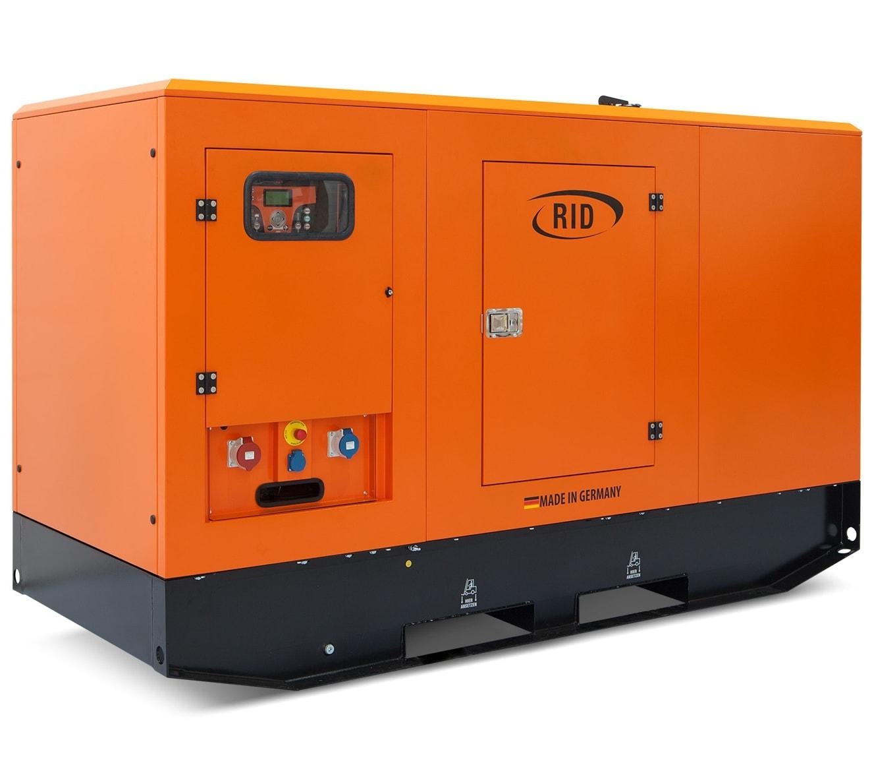 дизельная электростанция rid 120 c-series s