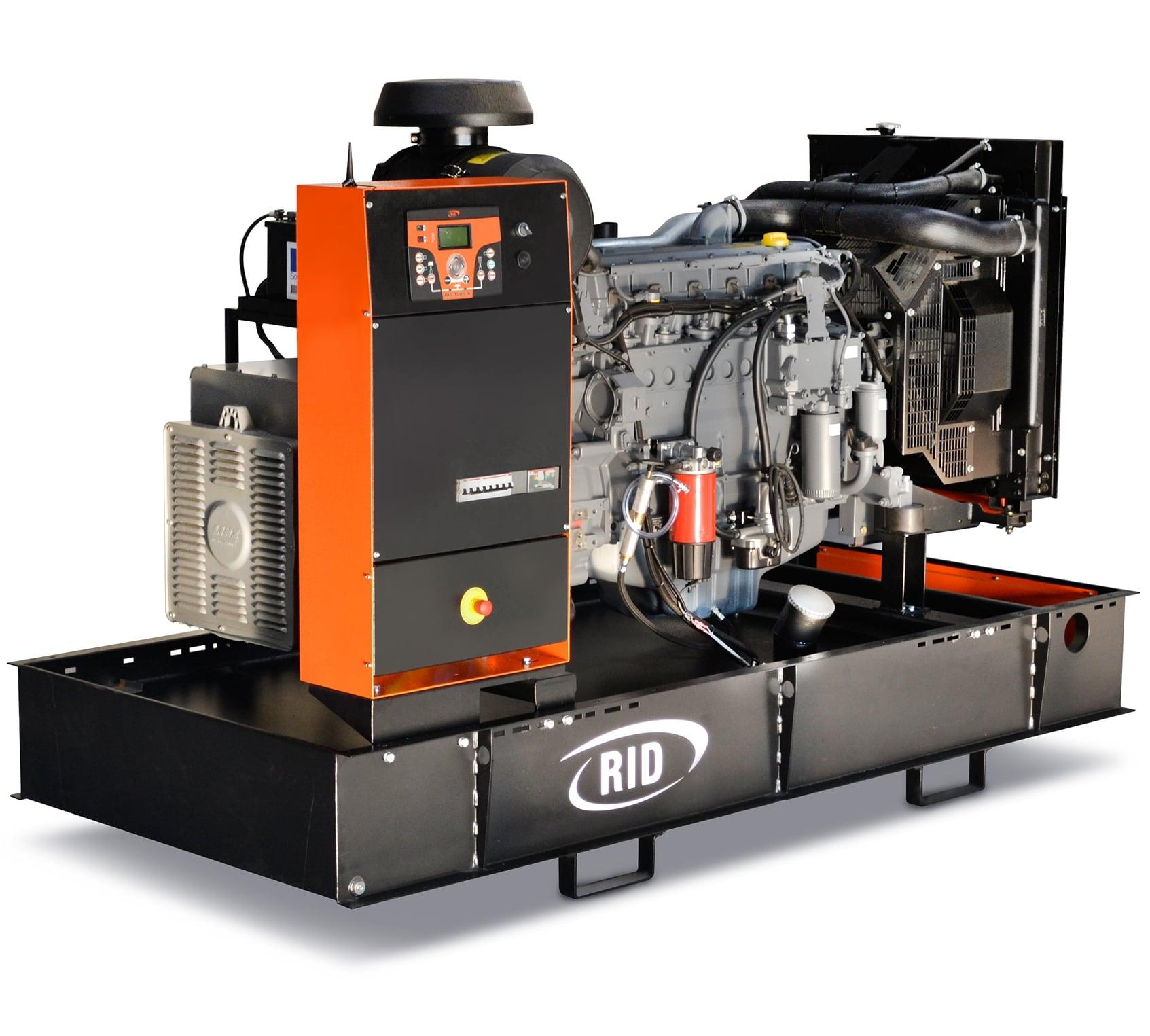 дизельная электростанция rid 150 s-series