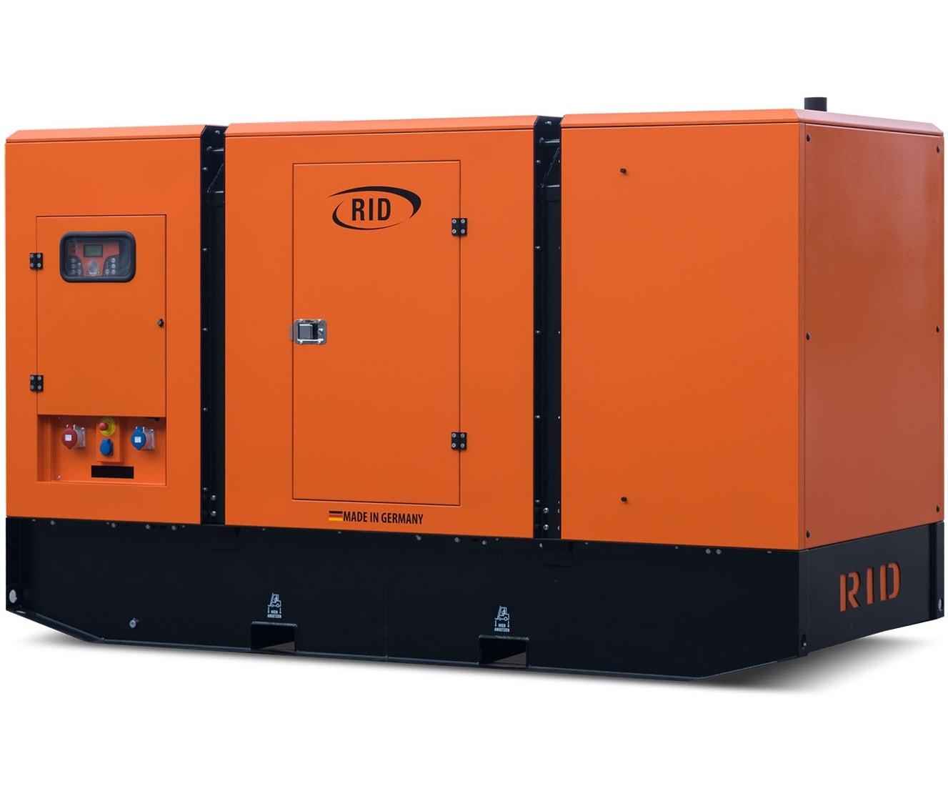 дизельная электростанция rid 150 s-series s