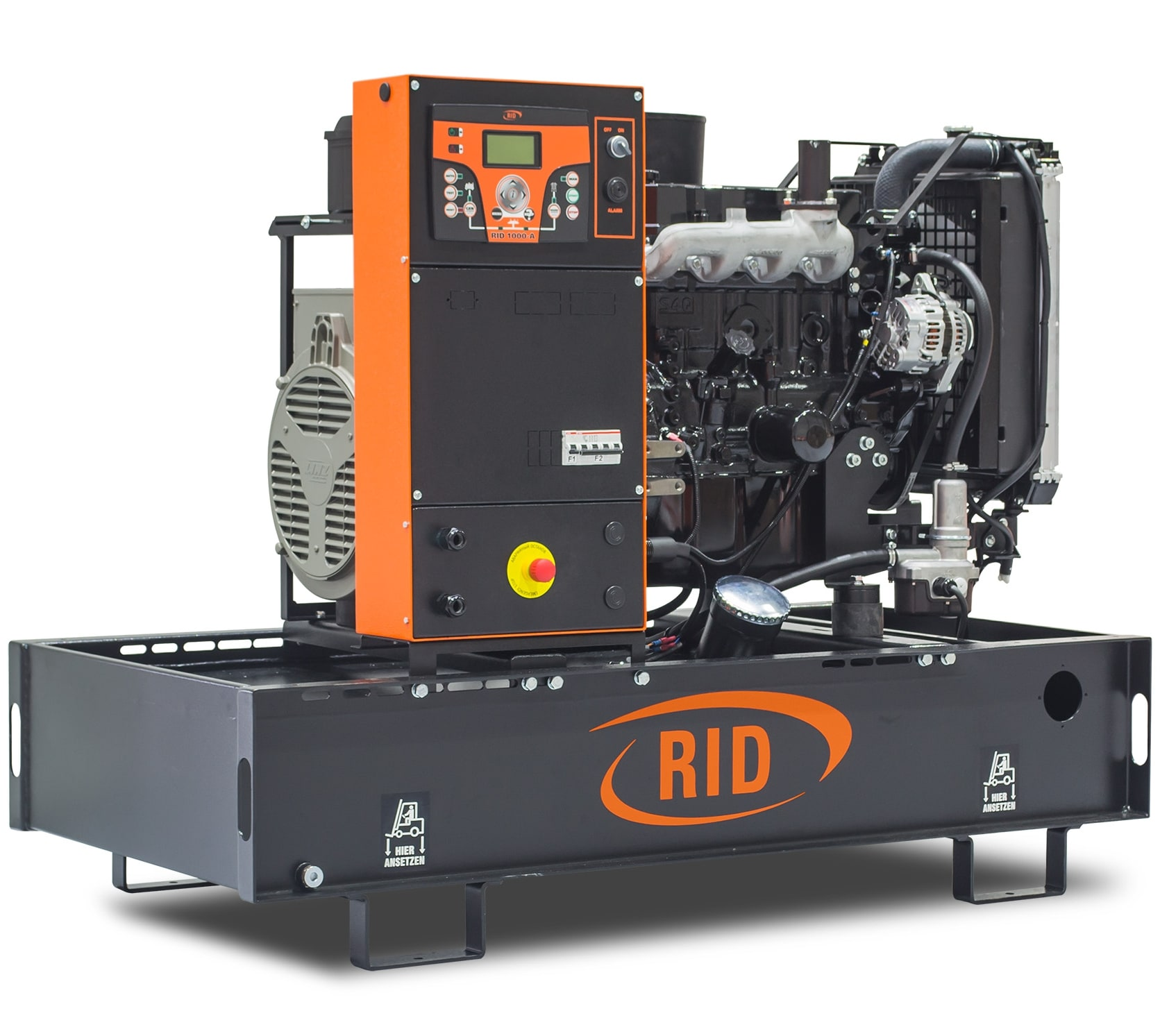 дизельная электростанция rid 15/1 e-series