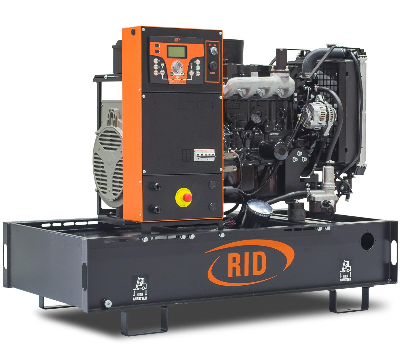 дизельная электростанция rid 15 e-series