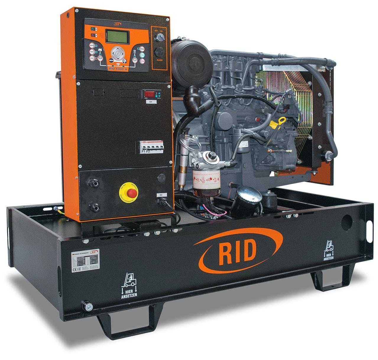 дизельная электростанция rid 15 s-series