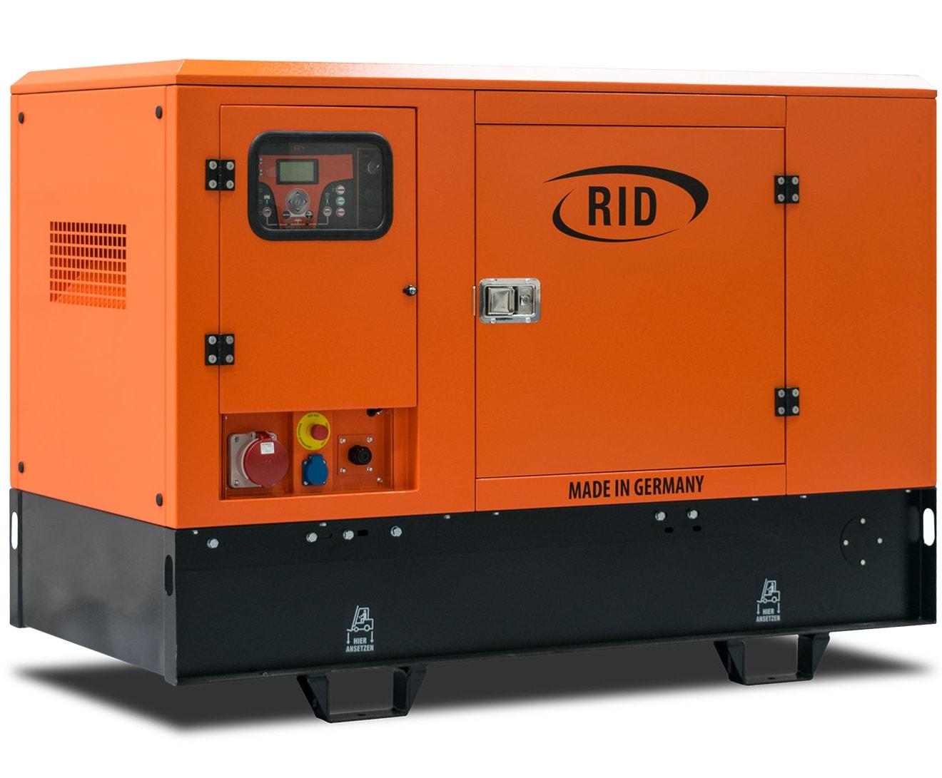 дизельная электростанция rid 30/1 s-series s