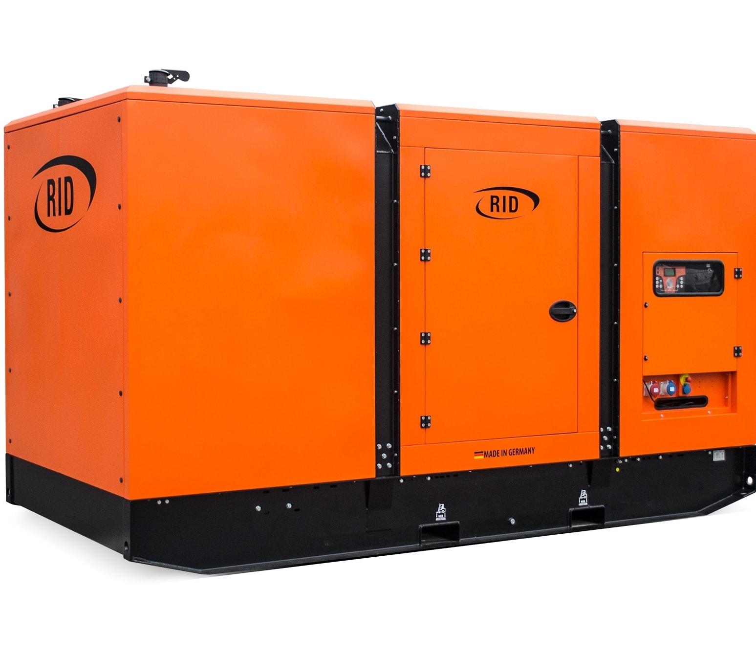 дизельная электростанция rid 400 s-series s