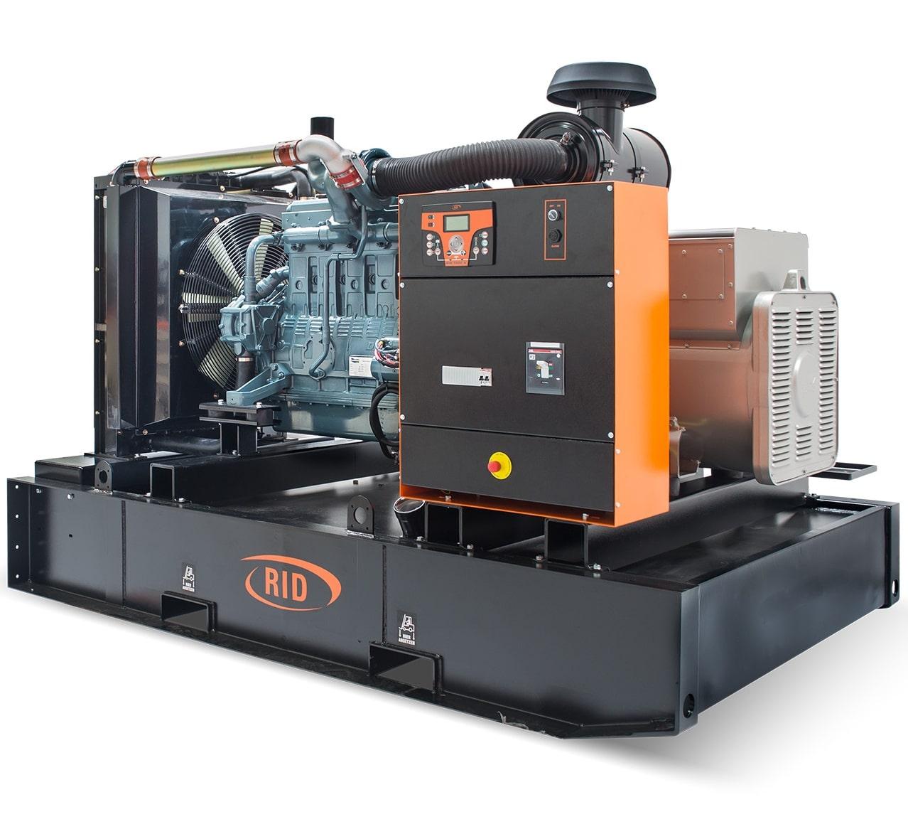 дизельная электростанция rid 450 b-series
