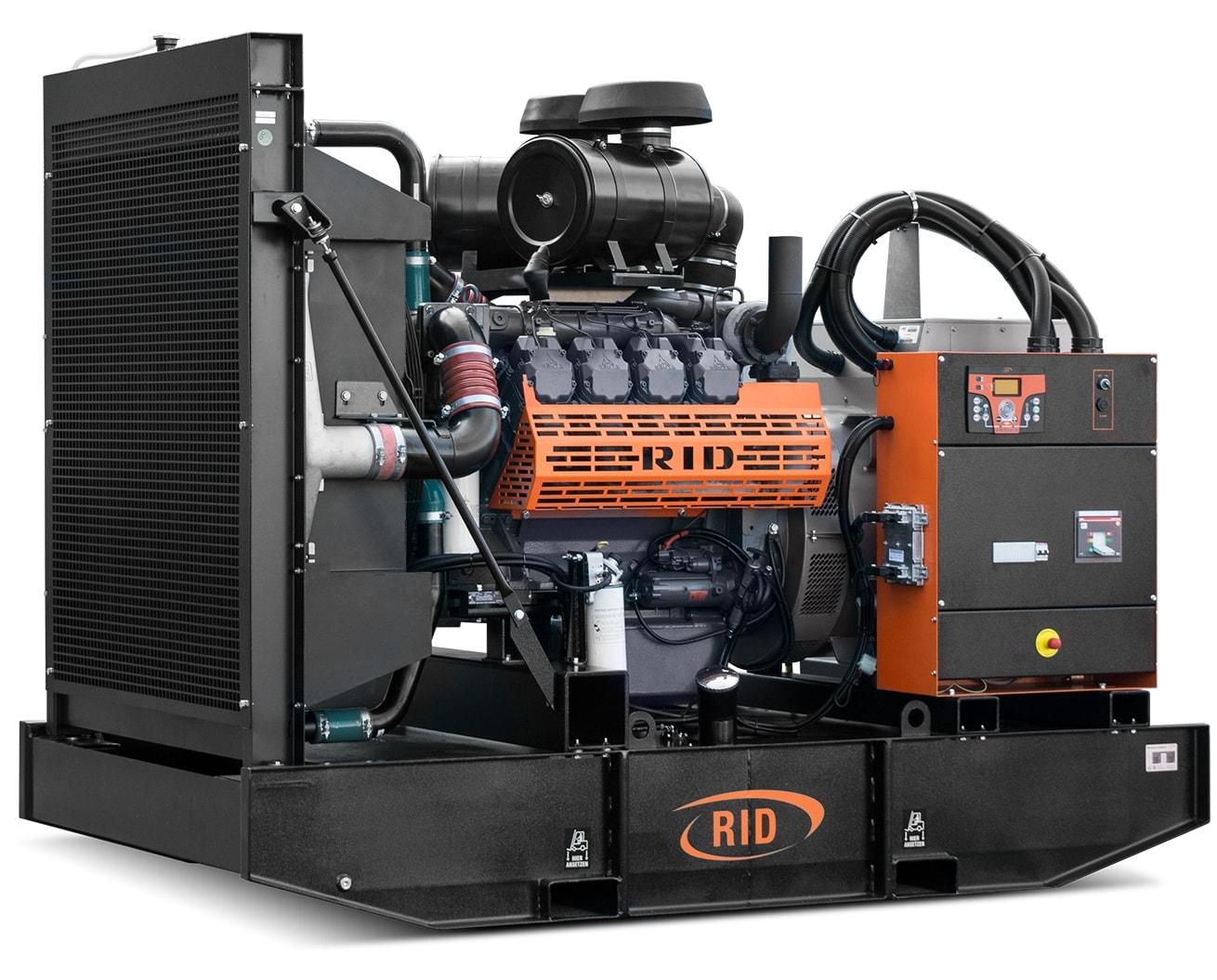 дизельная электростанция rid 450 s-series