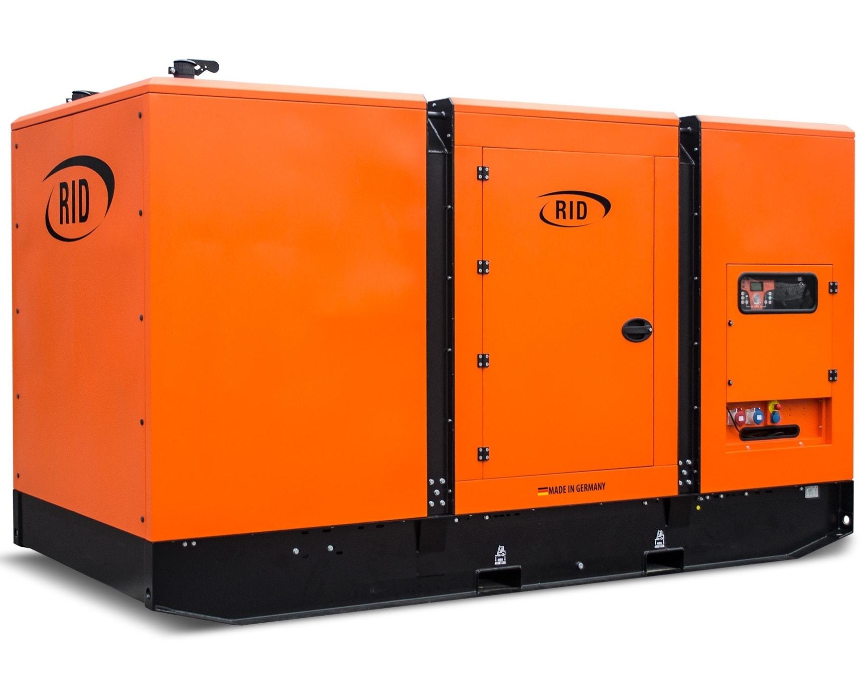 дизельная электростанция rid 500 b-series s