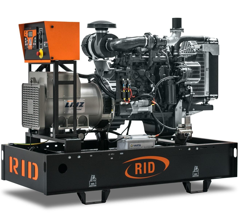 дизельная электростанция rid 50 c-series